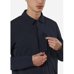 Mionn IS Overshirt Deep Navy Chest Pocket