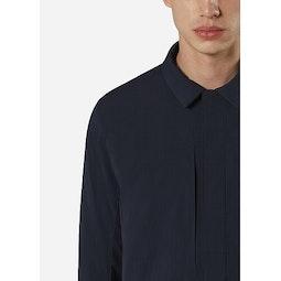 Mionn IS Overshirt Deep Navy Collar