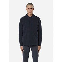 Mionn IS Overshirt Deep Navy Front View