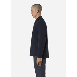 Mionn IS Overshirt Deep Navy Side View