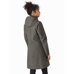 Mistaya Coat Women's Aeroponic Back View