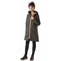 Mistaya Coat Women's Aeroponic Full View