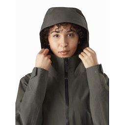 Mistaya Coat Women's Aeroponic Hood Up