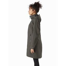 Mistaya Coat Women's Aeroponic Side View