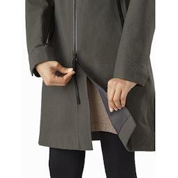 Mistaya Coat Women's Aeroponic Two Way Zipper