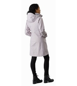 Mistaya Coat Women's Morganite Back View