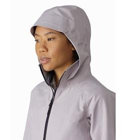 Mistaya Coat Women's Morganite Hood