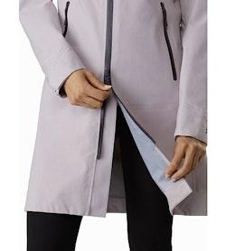Mistaya Coat Women's Morganite Two Way Zipper