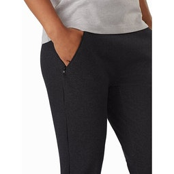 Momenta Jogger Women's Black Heather Hand Pocket