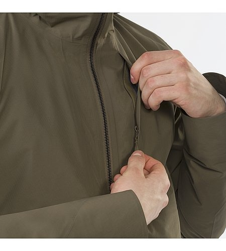Monitor Coat Mortar Chest Pocket