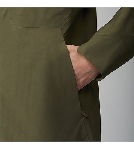 Monitor Coat Mortar Front Pocket