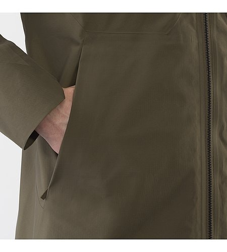 Monitor Coat Mortar Hand Pocket