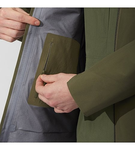 Monitor Coat Mortar Security Pocket Internal