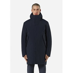 Monitor Down Coat Deep Navy Front View