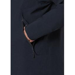 Monitor Down Coat Deep Navy Hand Pocket