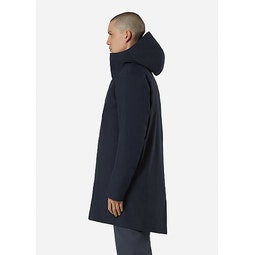 Monitor Down Coat Deep Navy Side View