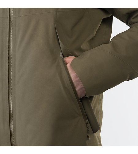 Monitor Down Coat Mortar Hand Pocket