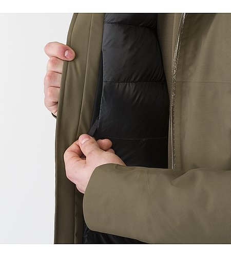 Monitor Down Coat Mortar Internal Pocket