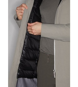 Monitor Down Coat Silt Internal Security Pocket