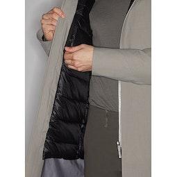 Monitor Down Coat Silt Internal Security Pocket