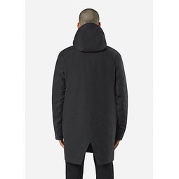 Monitor Down TW Coat Charcoal Heather Back View