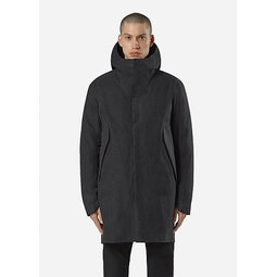 Monitor Down TW Coat Charcoal Heather Front View