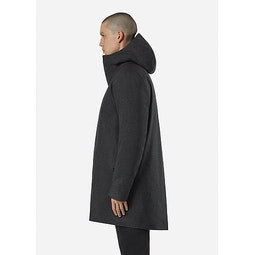 Monitor Down TW Coat Charcoal Heather Side View
