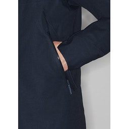 Monitor Down TW Coat Dark Navy Heather Hand Pocket