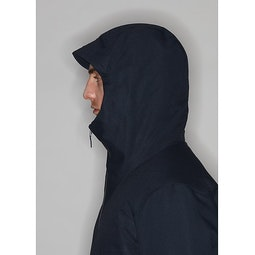 Monitor Down TW Coat Dark Navy Heather Hood