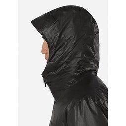 Monitor IS SL Coat Black Hood Up