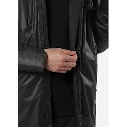 Monitor IS SL Coat Black Internal Security Pocket