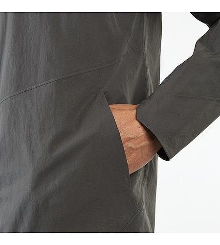 Monitor SL Coat Ash Hand Pocket