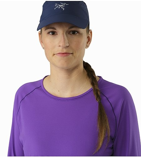 T-shirt Motus Col rond ML Femme Mauveine Encolure