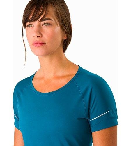 T-shirt Motus MC Femme Iliad Encolure