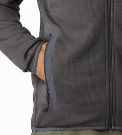 Naga Hoody Full Zip Wolf Hand Pocket