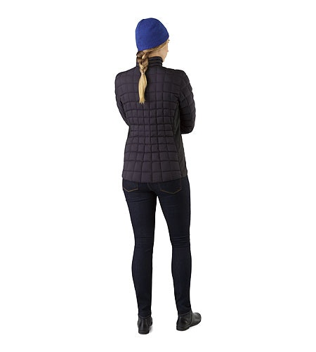 Narin Jacket Women's Black Back View