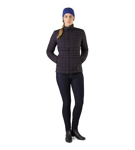 Narin Jacket Women's Black Front View