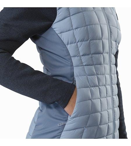 Narin Vest Women's Lunar Mist Hand Pocket