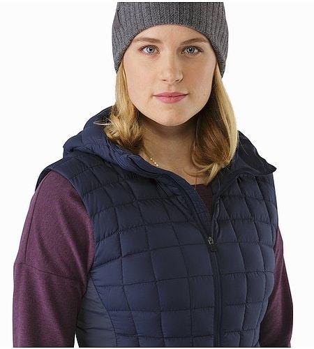 Narin Vest Women's Nighthawk Open Collar