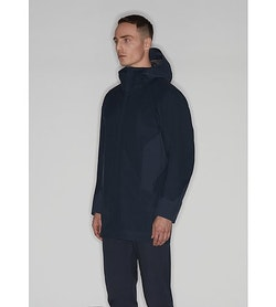 Naviar AR Coat Dark Navy 3 4 View