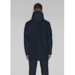 Naviar AR Coat Dark Navy Back View