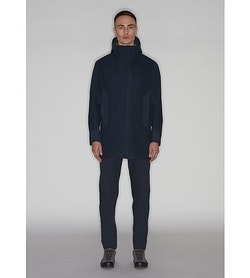 Naviar AR Coat Dark Navy Full Body