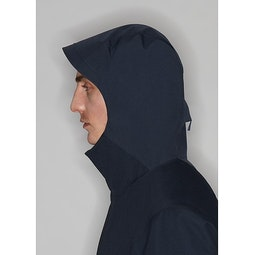 Naviar AR Coat Dark Navy Hood
