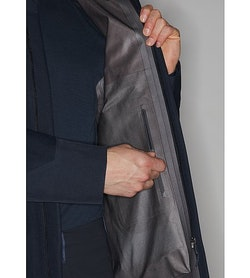 Naviar AR Coat Dark Navy Internal Security Pocket