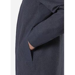 Navier AR Coat Pluton Heather Hand Pocket