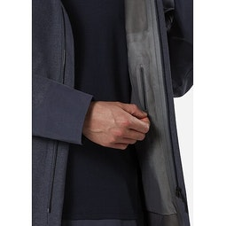 Navier AR Coat Pluton Heather Internal Security Pocket