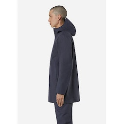 Navier AR Coat Pluton Heather Side View