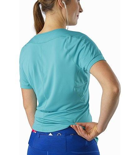 Nera 3/4 Tight Women's Somerset Blue External Pockets Back