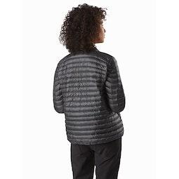Nexis Jacket Women's Cinder Back View
