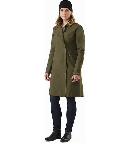 Nila Trench Coat Women's Banyen Front View 2